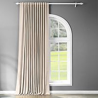 EFF Stone Doublewide Blackout Window Curtain