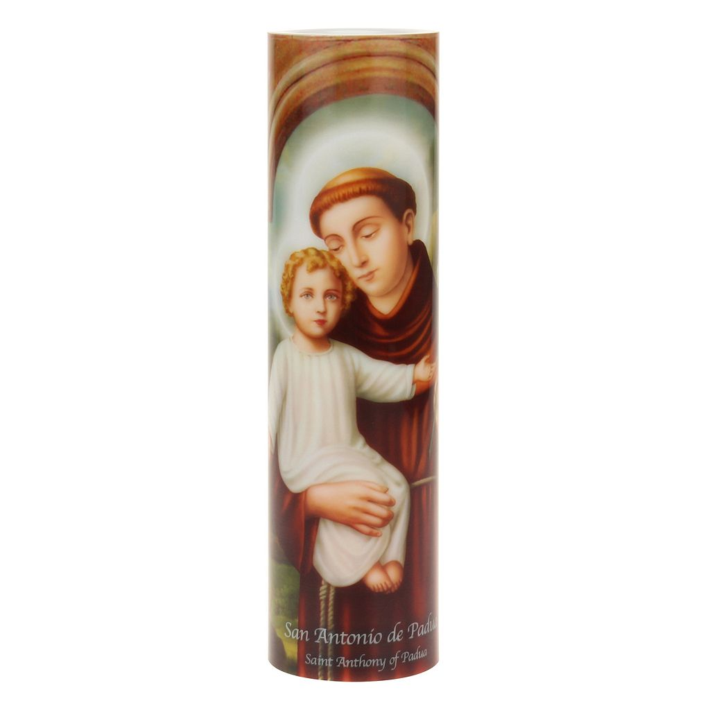 The Saints Collection St. Anthony Flameless LED Prayer Candle