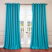 EFF Stone Grommet Doublewide Blackout Curtain