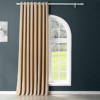 EFF Stone Grommet Doublewide Blackout Window Curtain