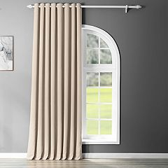 EFF Blackout 1-Panel Grommet Doublewide Window Curtain