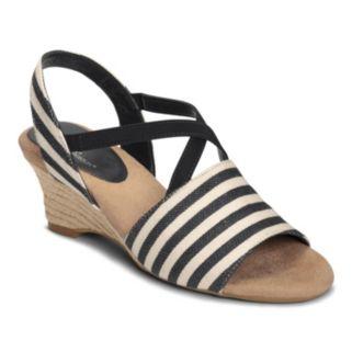 A2 by Aerosoles Boyzenberry Women's Nautical Wedge Sandals