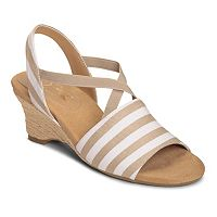 A2 by Aerosoles Boyzenberry Women's Nautical Wedge Sandals