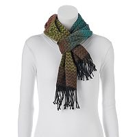 Softer Than Cashmere? Ombre Zigzag Oblong Scarf