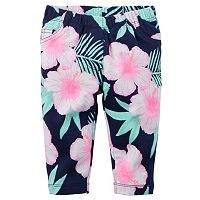Baby Girl Carter's Floral French Terry Pants