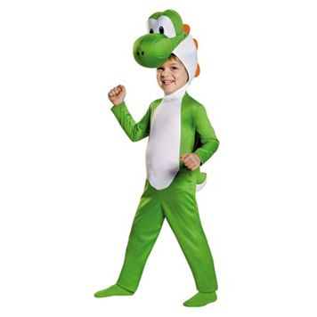 Toddler Super Mario Brothers Yoshi Costume