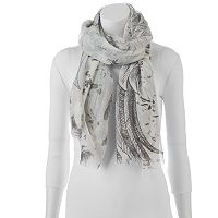 Candie's® Feather Oblong Scarf
