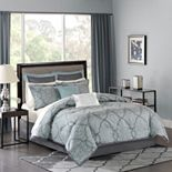 Madison Park Anouk 12-pc. Jacquard Comforter Set