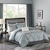 Madison Park Anouk 12 pc Jacquard Comforter Set