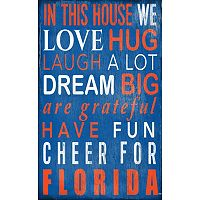 Florida Gators In This House Wall Art