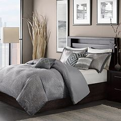 Madison Park Crawford 6-pc. Duvet Cover Set