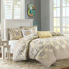 Madison Park Leah 5 pc Duvet Cover Set