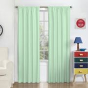 eclipse Thermaback Blackout 1-Panel Macklin Window Curtain