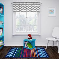 eclipse ThermaBack Wavy Chevron Blackout Valance