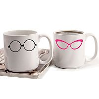 Cathy's Concepts Geek Glasses 2-pc. Mug Set