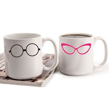 Cathy's Concepts Geek Glasses 2-pc. Mug Set