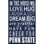 Penn State Nittany Lions In This House Wall Art