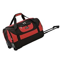 Travelers Club Luggage 20 in Wheeled Duffel Bag
