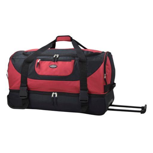 Travelers Club Luggage 30-in. Wheeled Duffel Bag