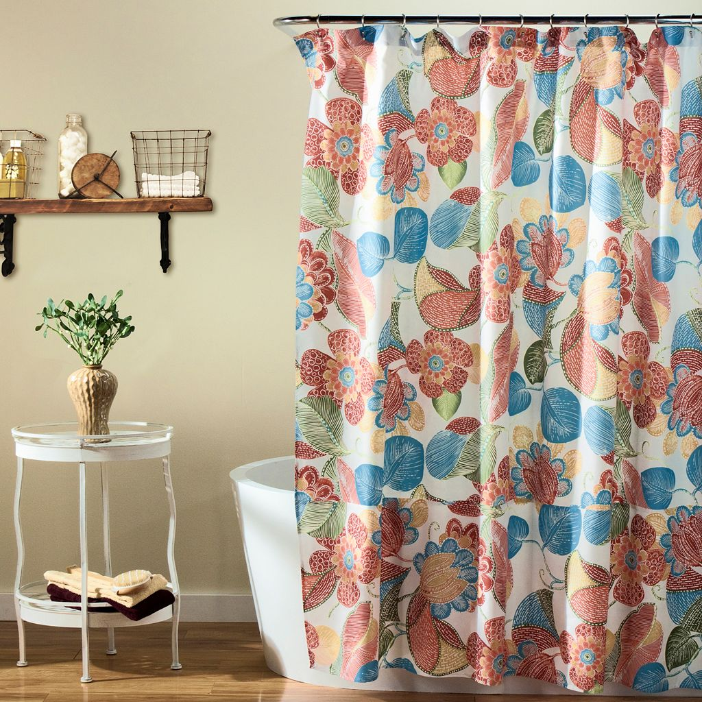 Lush Decor Layla Shower Curtain