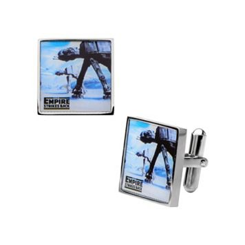 Star Wars Stainless Steel AT-AT Cuff Links