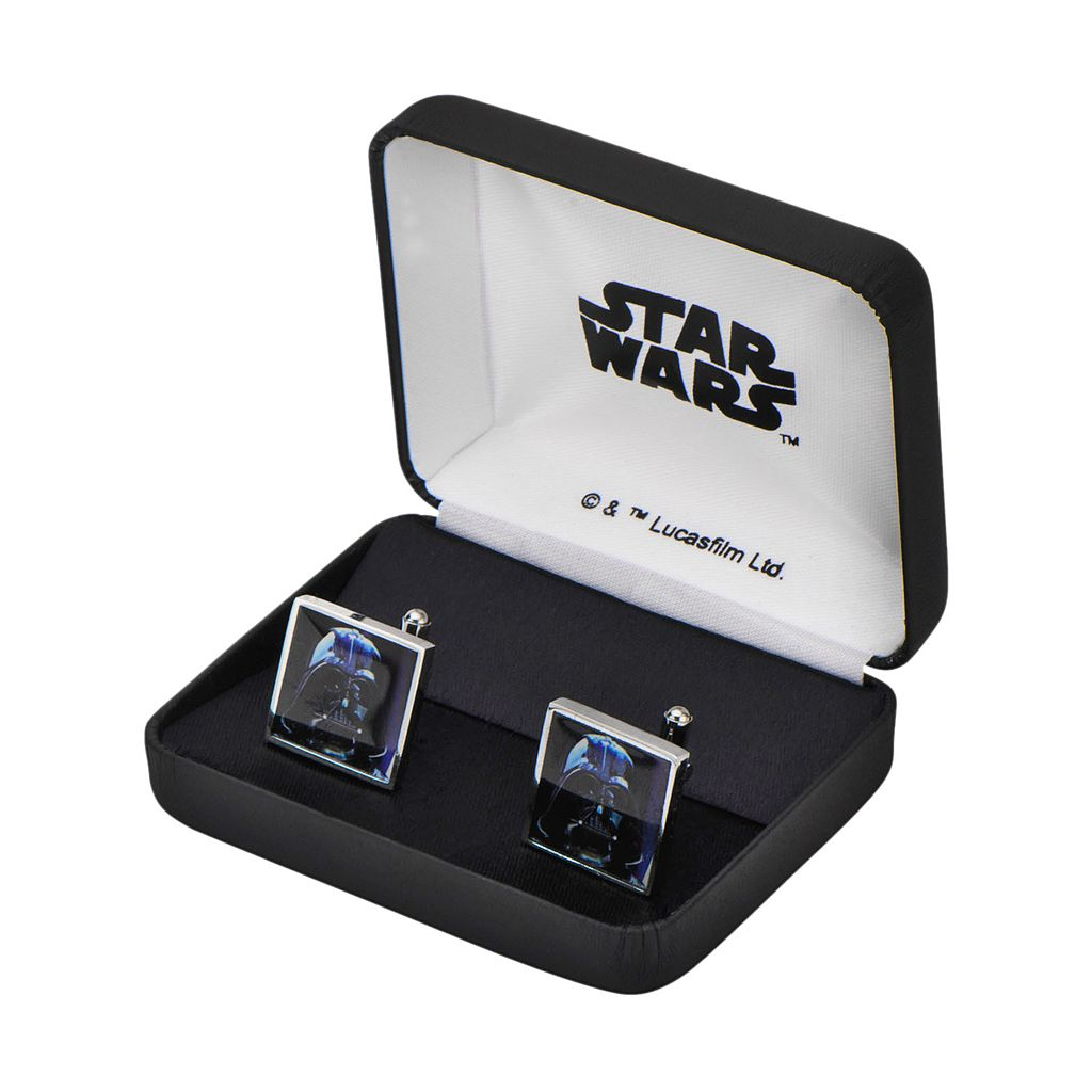 Star Wars Darth Vader Stainless Steel Cuff Links