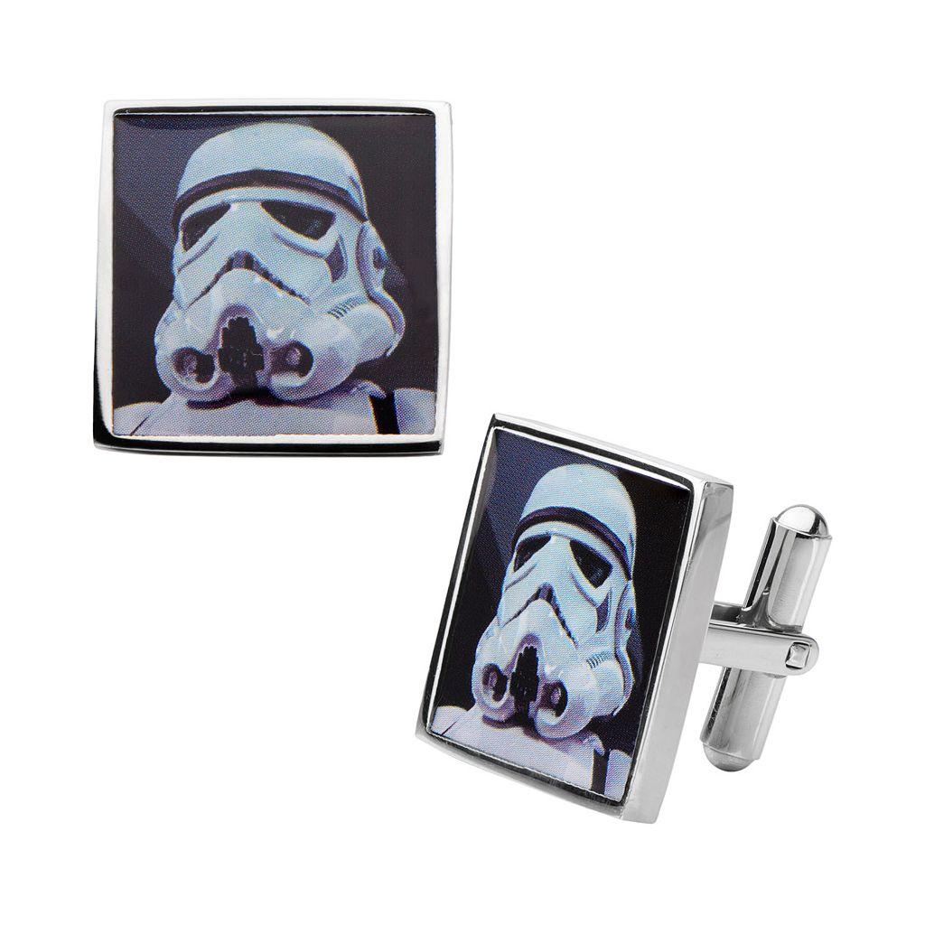 Star Wars Stormtrooper Stainless Steel Cuff Links