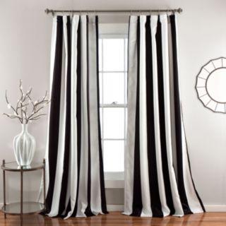Lush Decor Wilbur Room Darkening 2-pk. Window Curtains