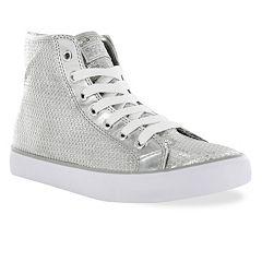 Gotta Flurt Disco II Girls' Sequin High-Top Sneakers