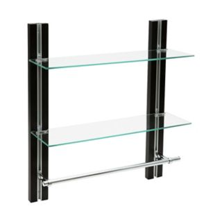 Neu Home 2-Tier Glass Shelving Unit
