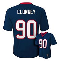 Boys 4-7 Houston Texans Jadeveon Clowney NFL Replica Jersey