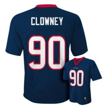 Boys 4-7 Houston Texans Jadeveon Clowney NFL Replica Jersey