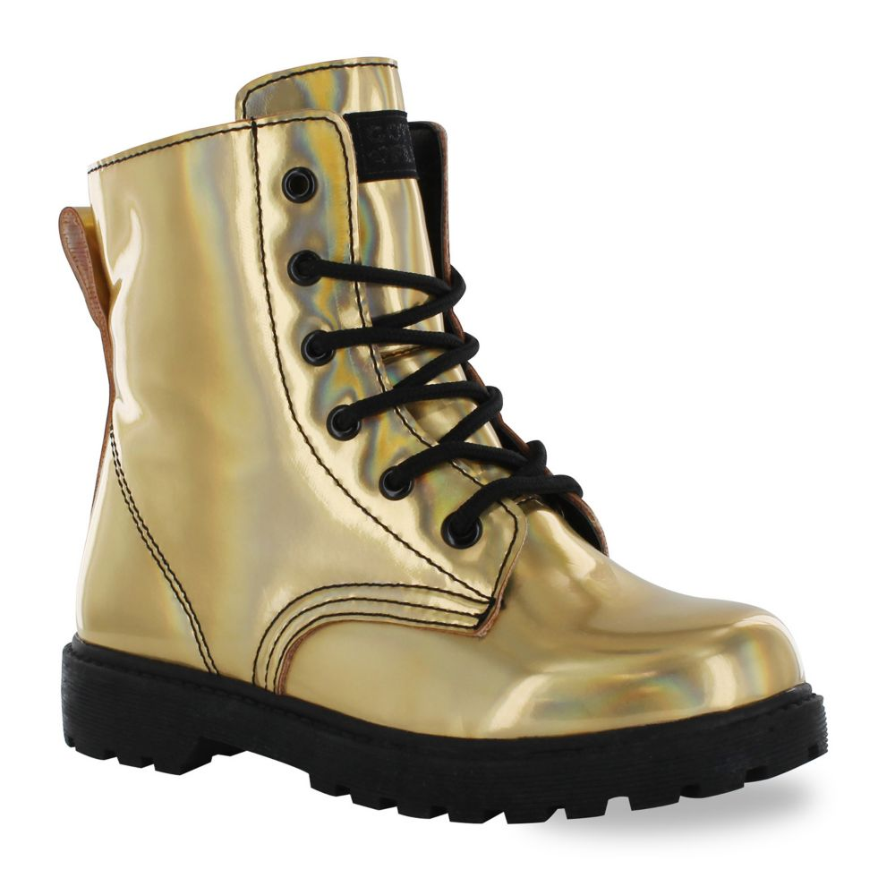 Flurt Luna Girls' Combat Boots