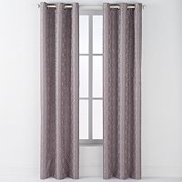 Arlee 2-pk. Arista Diamond Jacquard Blackout Grommet Curtains - 84'' x 40''