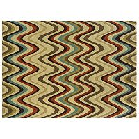 Linon Trio Wave Rug