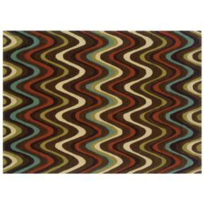 Linon Trio Wave Rug