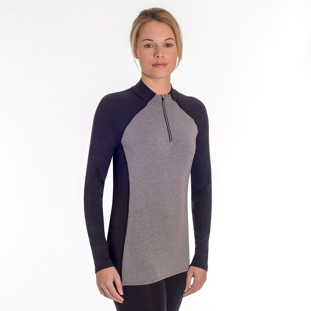 Women's Snow Angel Cashmere Quarter-Zip Top