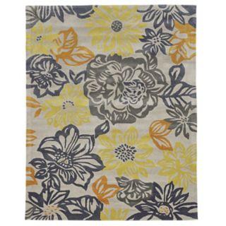 Linon Trio Floral Rug