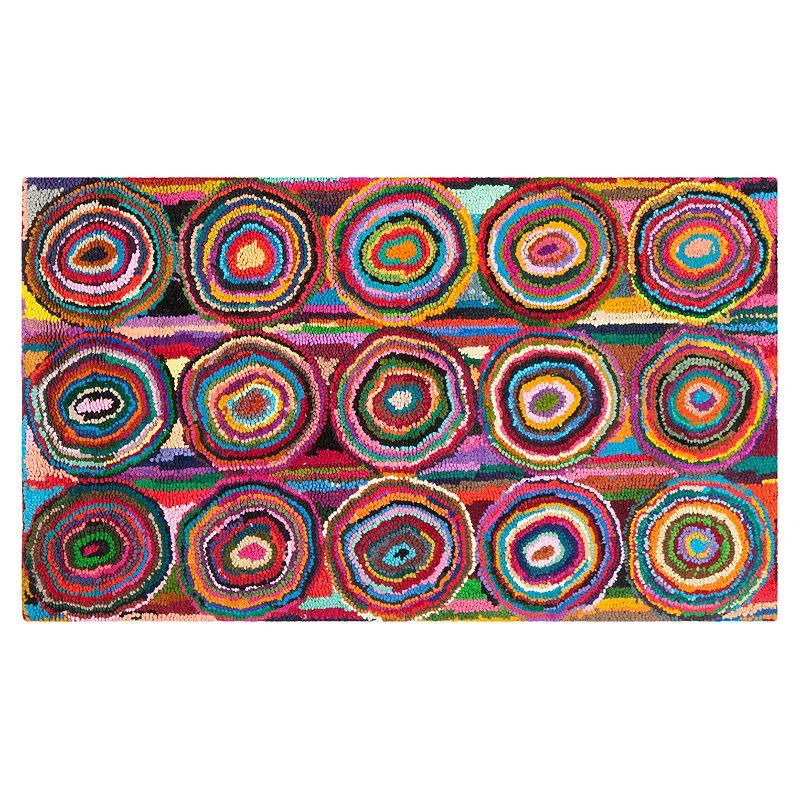 Safavieh Nantucket Jacqueline Geometric Rug, Pink, 8X10 Ft Product Image
