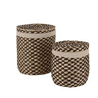 Neu Home Brazilian 2-pc. Laundry Hamper Set