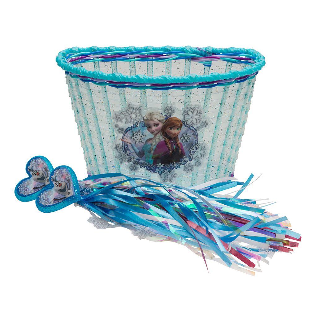 Disney's Frozen Kids Bike Basket & Streamer Set