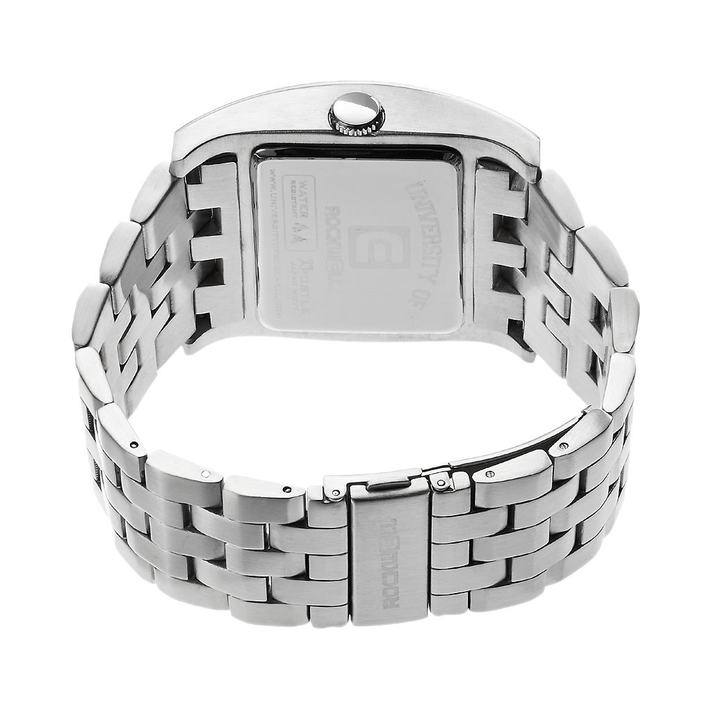 Rockwell Auburn Tigers Apostle Stainless Steel Watch - Men