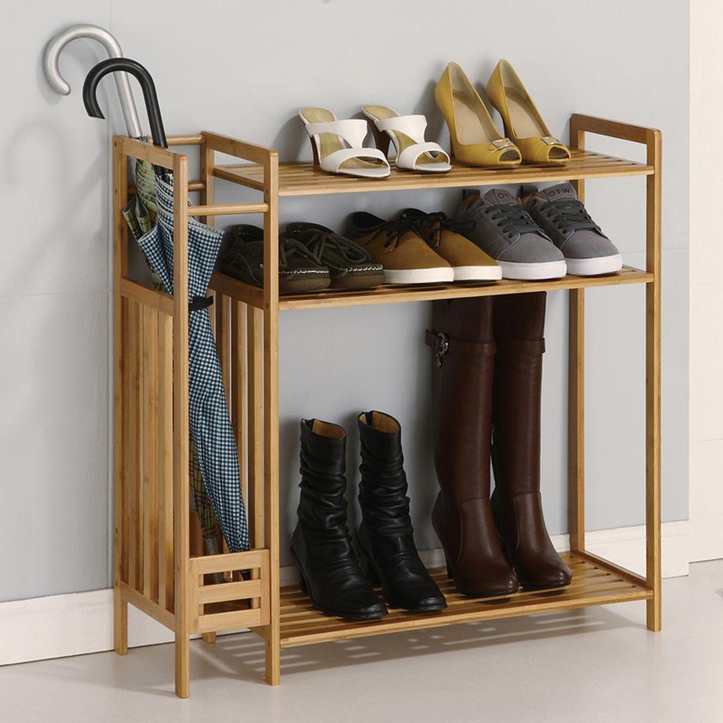 Neu Home 3-Tier Stackable Shoe Rack & Storage