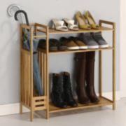 Neu Home 3-Tier Stackable Shoe Rack & Storage