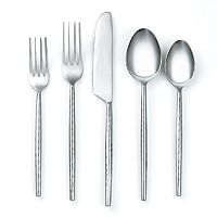 Cambridge Rani 20 pc Hammered Flatware Set