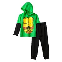 Teenage Mutant Ninja Turtles Toddler Boy Hooded Tee & Pants Set