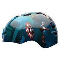 Marvel Captain America: The First Avenger Kids Multisport Helmet by Bell Sports