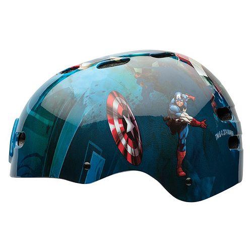 Marvel Captain America: The First Avenger Kids Multisport Helmet by Bell Sports