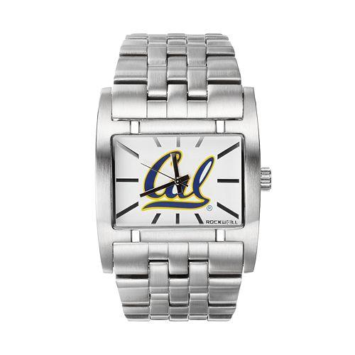 Rockwell Cal Golden Bears Apostle Stainless Steel Watch - Men