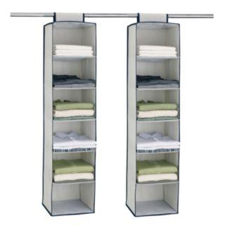 Neu Home 2-pk. Twilight Six Shelf Accessory Bag Set